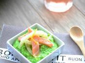 Saumon fenouil marinés, crème douceur petits pois...IG (Battle Food #21)