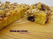 Gâteau cerises crumble d'avoine