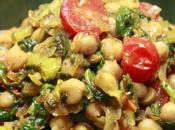 Channa Kulfa Subzi Sauté pourpier pois chiche Purslane chickpea curry