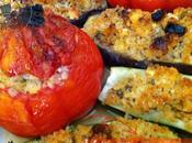 Légumes farcis boulgour feta