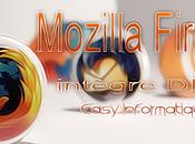 Mozilla Firefox intègre