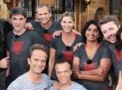 Fort Boyard avec Bruno Guillon, Louis Laforge, Tex, Patricia Loison