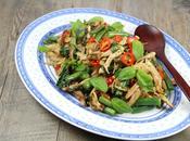 Poulet sauté basilic façon thaï
