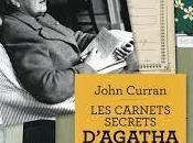 carnets secrets d'Agatha Christie John Curran
