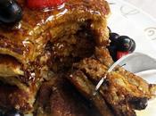 Pancakes flocons d'avoine vegan, sans gluten