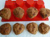muffins hyperprotéinés complets vanille pomme avoine graines psyllium (sans sucre oeufs beurre)