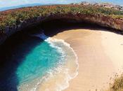 promenade plage cachée Iles Marieta Mexique