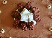 "Gâteau ""Nounours"" Chocolat Guimauve"