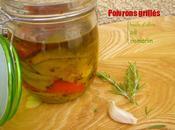 Conserves poivrons grillés l'huile d'olive