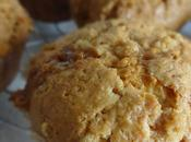 Muffins chocolat blanc coeur caramel