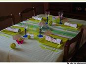 table papillon speciale dejeuner dehors