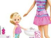 Decouverte barbie baby sitter