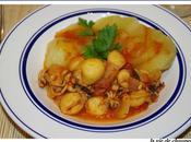 Petites seiches setoise pommes terre
