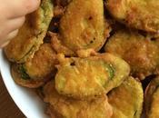 Beignets courgettes sans gluten