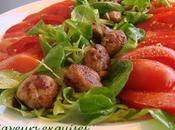 Sots laisse salade