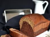 Cake marbré banane chocolat Sans lactose