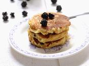 Pancakes mûres pour changer myrtilles