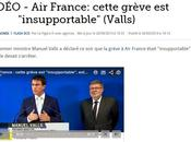 grèves insupportables