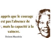 courage n'est l'absence peur, mais capacité vaincre.