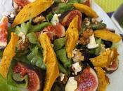 Salade d'Automne (Figues, Raisin, Roquefort, Noix, Blanc Poulet)