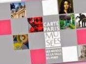 carte Paris Musées, plan culturel automne