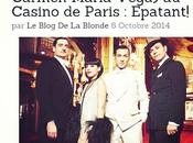 Aujourd'hui blog parle #Mistinguett, Reine Années Folles, spectacle musical avec @Carmenmariavega, actuellement #casinodeparis #Paris #SortiràParis