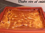 Clafoutis meringué Fromage blanc Framboises