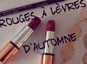 Deux rouges lèvres parfaits pour l'automne