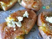 Pommes terre tapées Roquefort