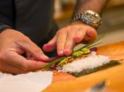 Sushi Croustillant Crevette Avocat Betterave @ChefGarnierJ