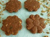 gâteaux crus multicéréales cacao psyllium (sans beurre, sans oeufs, avec Sukrin cuisson)