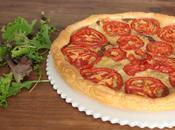 Tarte fine tomates, comté moutarde l'ancienne d'Ursula