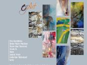 collectif d'aquarellistes Oz'Art exposent Galerie Rivaud Poitiers