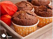 Muffins potiron chocolat poires