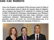 Conférence Enfermement liberté avec Florence Cassez Annecy