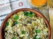 Poulet mariné épicé avec Biryani indien