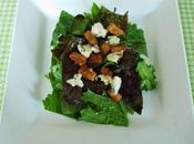 Salade mélangée Bleu lardons végétariens