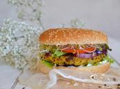 Burger végétarien Galettes flocons d'avoine légumes