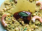 Chapatis crevettes