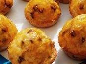 muffins muesli pépite chocolat, nappés confiture d'abricot