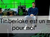 """Justin Timberlake modèle pour moi"""