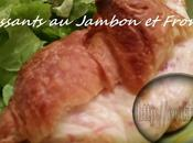 Croissants Jambon Fromage (Thermomix)