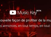 YouTube lance Music Key, service musical diffusion