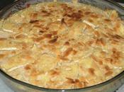 Purée pommes terre panais gratinée brie amandes