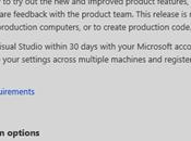 télécharger preview Visual Studio 2015