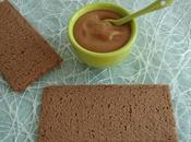 tartinade diététique lucuma avec Sukrin seulement kcal (sans gluten, sans sucre beurre)