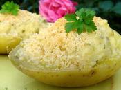 Pommes terre farcies gratinées moutarde