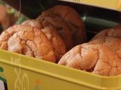 ~Biscuits chocolat blanc, moelleux-croquants~