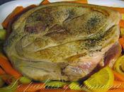 Épaule porc braisé l'orange cannelle