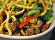 Boeuf haché légumes croquants chinoise
